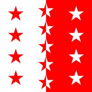 drapeau valaisan
