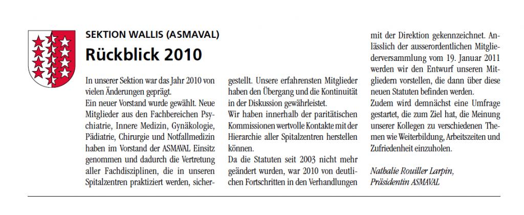 januar-2011 VSAO Journal
